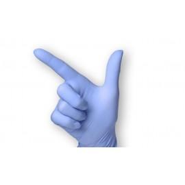 L+R - Sempercare Velvet - Levandulově modré nitrilové rukavice