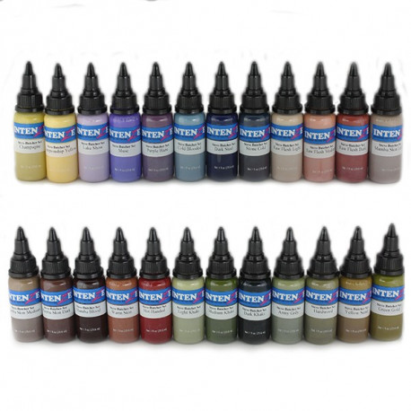Intenze Ink - Steve Butcher set (24x 1 oz) - Euro Tattoo Supply