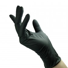 Unigloves - Select Black - Black latex gloves