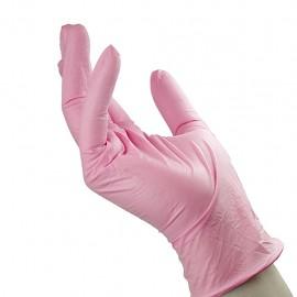 Unigloves - Pink Pearl - Pink nitrile gloves