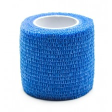 Cohesive wrap tape for grip