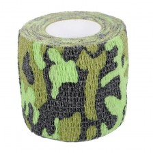 Cohesive Wrap Tape For Grips (green camouflage)