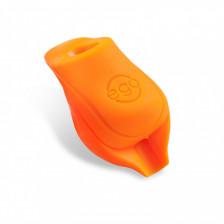 EGO Biogrip - Classic Black - silikonové tlumiče oranžové 25 mm (2 ks)