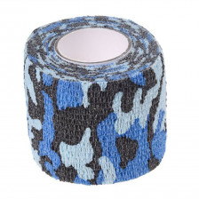Cohesive Wrap Tape For Grips (blue camouflage)