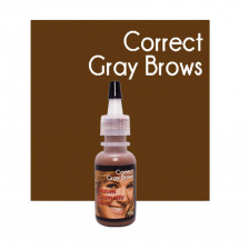 Custom Cosmetic Colors - Correct Gray Brows