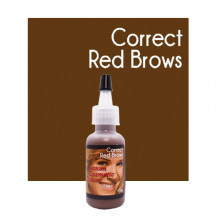 Custom Cosmetic Colors - Correct Red Brows