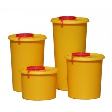 Toxic waste container