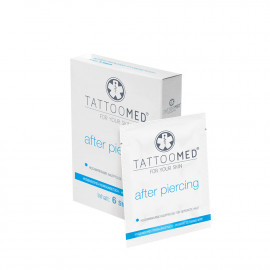 TattooMed® After Piercing towel