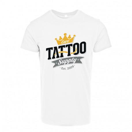 Men's T-shirt with E. T. S. Logo Black - S