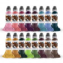 World Famous Ink - A. D. Pancho - Color set (16x 1 oz)