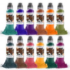 World Famous Ink - Oleg Shepelenko - Color Realism set (16x 1 oz)