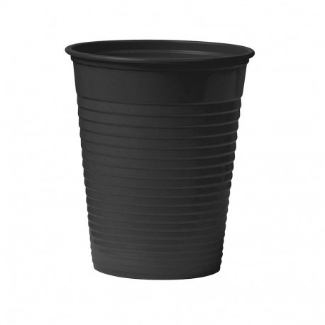 Unigloves - Black Plastic Cup - 100 pcs