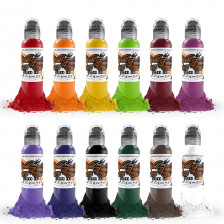 World Famous Ink - Primary B set (12x 1/2 oz)