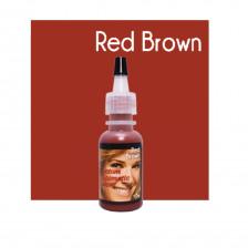 Custom Cosmetic Colors - Red Brown