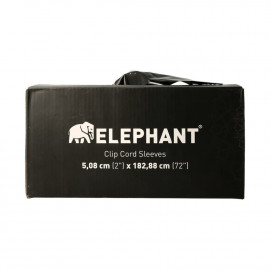 Elephant - Clipcord sleeves (100 pcs)