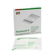 L+R - Suprasorb F (sterile) 10 cm × 12 cm