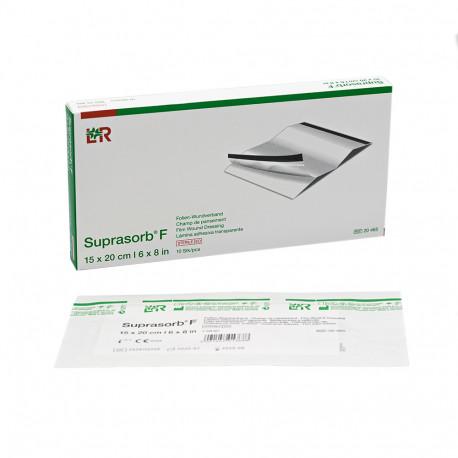 L+R - Suprasorb F (sterile) 10 cm × 25 cm