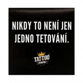 Sticker - It's never just one tattoo (9,5 x 9,5 cm)