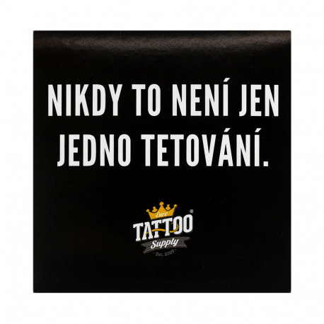 Sticker - I'm tattooing, so I am (9,5 x 9,5 cm)