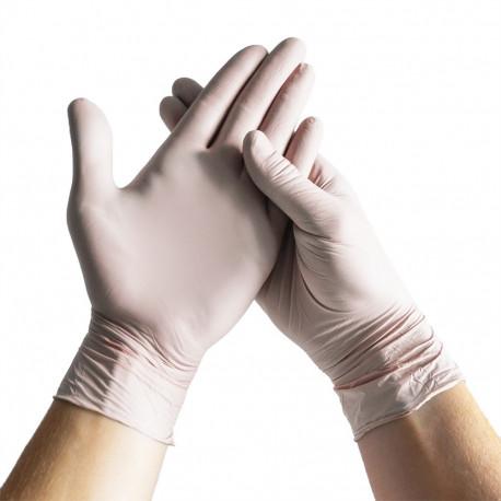 Unigloves - Select Black - Black Latex Gloves S