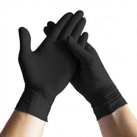 Espeon - Black nitrile gloves Premium XL