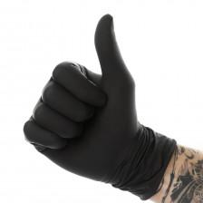 Espeon - Black latex gloves L
