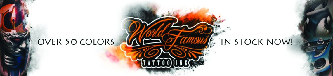 World Famous Tattoo Ink in stock right now!