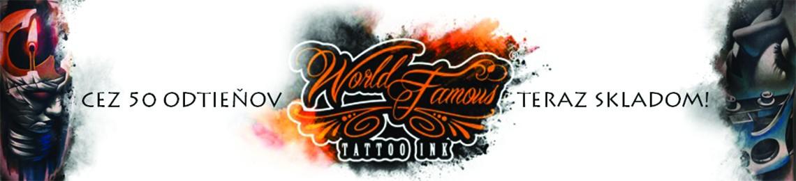 Nové farby World Famous Tattoo Ink teraz skladom!